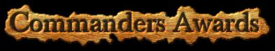 Commanders awards
